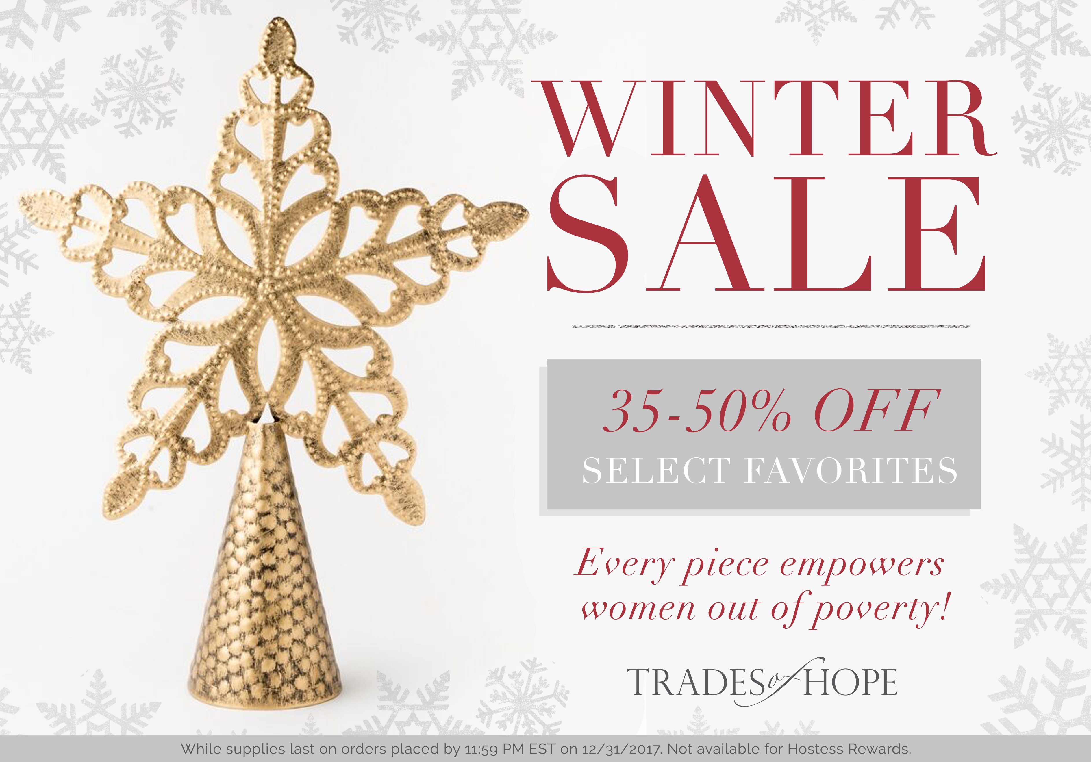 Trades of Hope Christmas Sale!