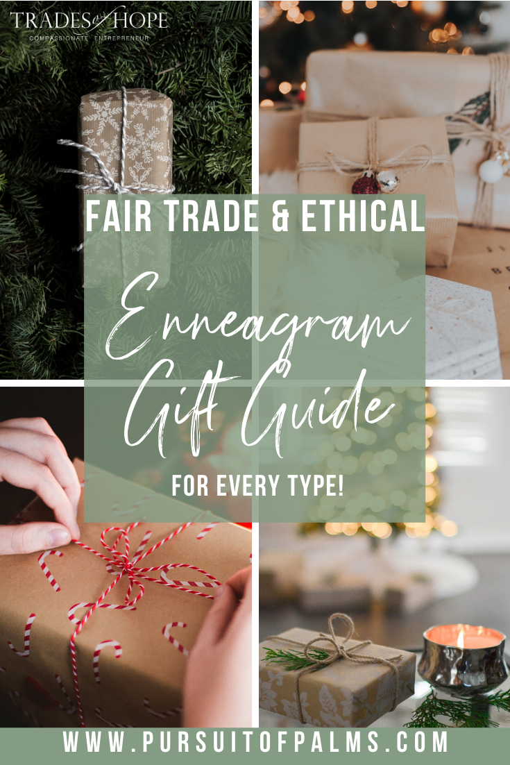 Enneagram Fair Trade Gift Guide | Read all about the Enneagram Gift ideas! Click for details on how to purchase these gorgeous Fair Trade & Ethical Gifts for yourself! #fairtrade #ethical #giftguide #tradesofhope #directsales #enneagram
