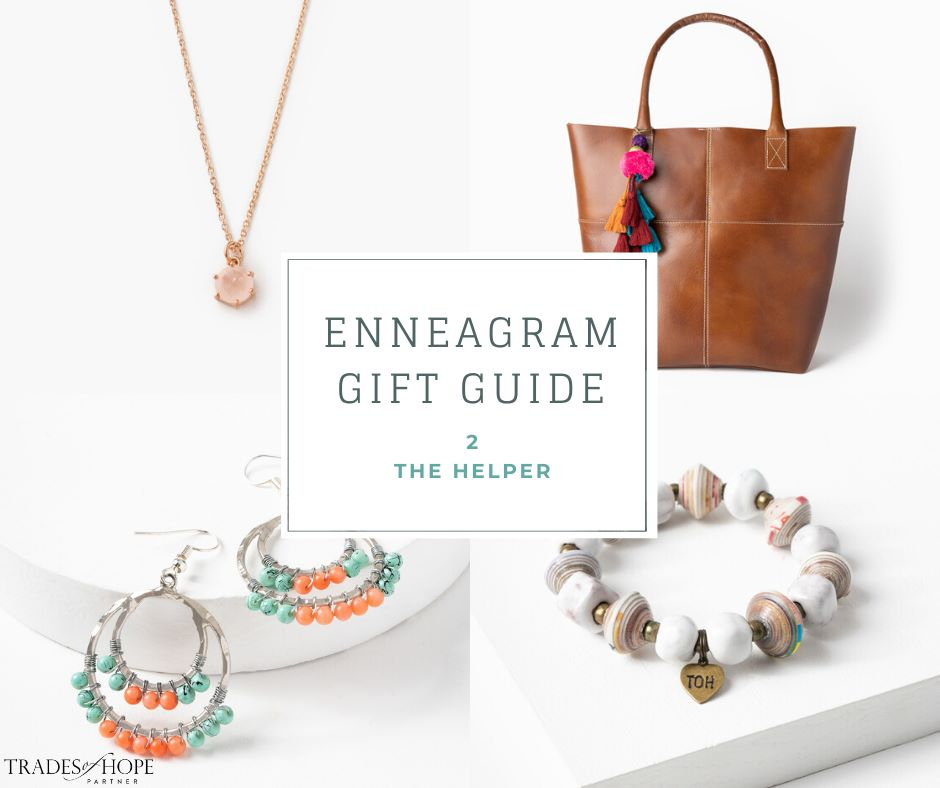 Enneagram Type 2 Fair Trade Gift Guide | Read all about the Type 2 Gift ideas! Click for details on how to purchase these gorgeous Fair Trade & Ethical Gifts for yourself! #fairtrade #ethical #giftguide #tradesofhope #directsales #enneagram