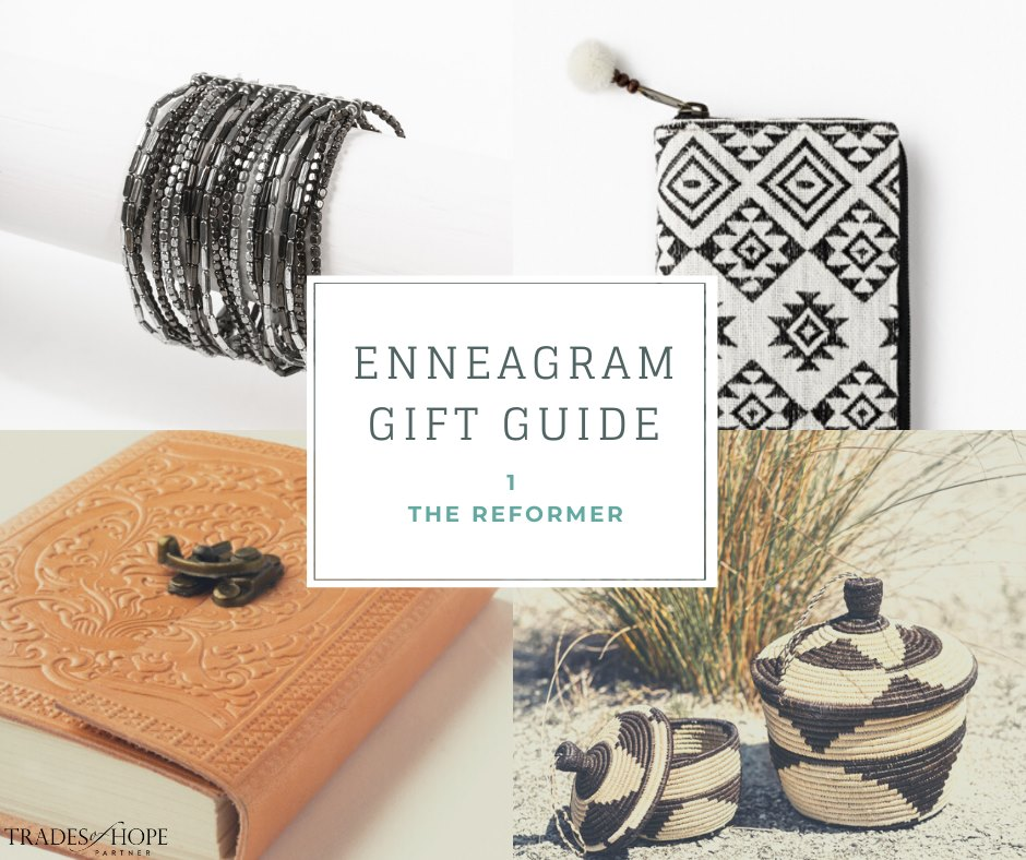 Enneagram Type 1 Fair Trade Gift Guide | Read all about the Type 1 Gift ideas! Click for details on how to purchase these gorgeous Fair Trade & Ethical Gifts for yourself! #fairtrade #ethical #giftguide #tradesofhope #directsales #enneagram